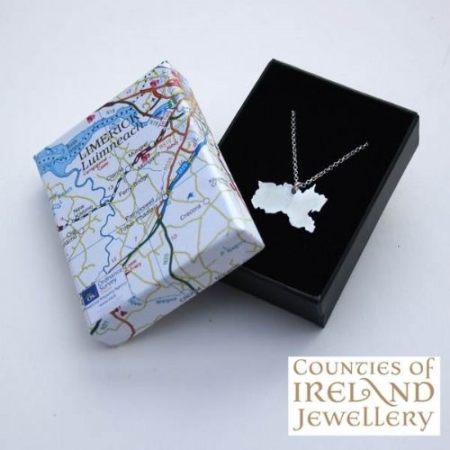 County Limerick Map Pendant